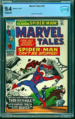 Marvel Tales #25 CBCS NM 9.4 Off White to White