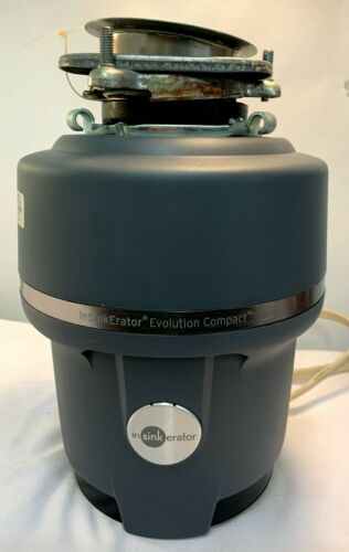 Insinkerator Evolution Compact Garbage Disposal 3/4 HP 120 Volts 9.5 Amps