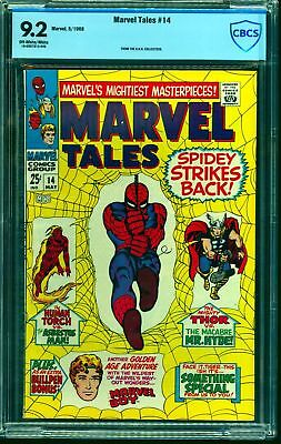 Marvel Tales #14 CBCS NM- 9.2 Off White to White