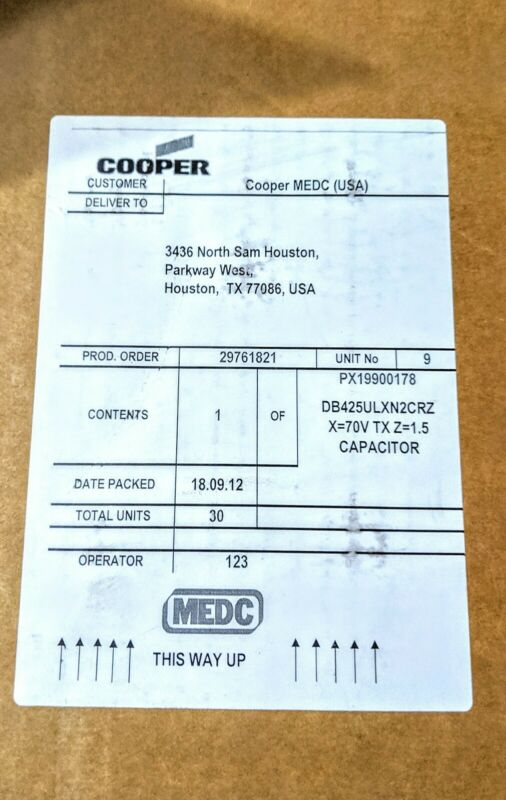 Cooper Wheelock DB425ULXN2CRZ Explosion Proof Speaker, 25W