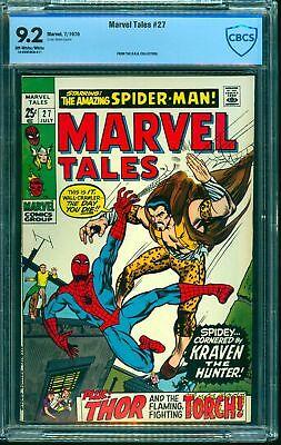 Marvel Tales #27 CBCS NM- 9.2 Off White to White