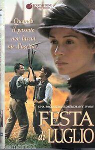 Festa di luglio (1995) VHS Touchstone - - Italia - L'oggetto può essere restituito - Italia