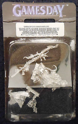 2011 Limited Gd11 Games Day Skaven Warlord Miniature Citadel Chaos Ratmen Army
