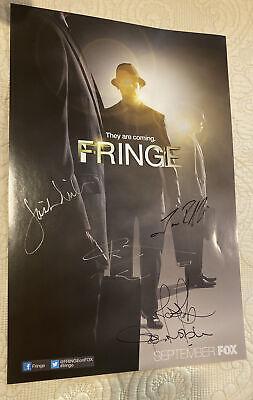 SDCC 2012 Fringe Signed Poster