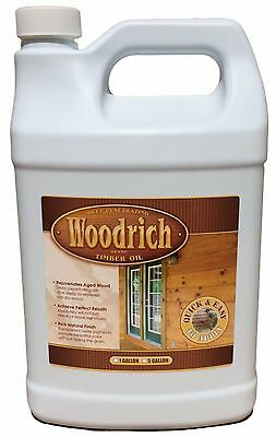 - Timber Oil Wood Deck Fence & Siding Stain - 1 Gallon - 4 Colors - Woodrich Brand