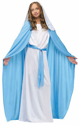 The Virgin Mary Child Costume Christian Religious Holy Bible Biblical - Bible Costumes For Girls