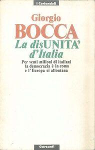 LA-DISUNITA-039-D-039-ITALIA-GIORGIO-BOCCA