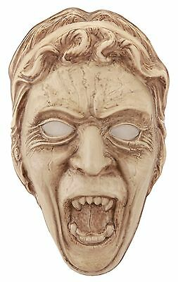 Weeping Angel Mask (Dr Doctor Who Adult Vacuform Weeping Angel Costume Mask Elope Licensed BBC)