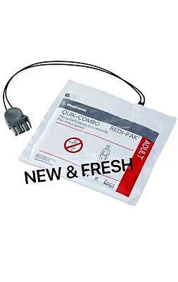 Physio-control Lifepak 12 15 500 1000 Quik-combo Adult Electrode Pads Zoll