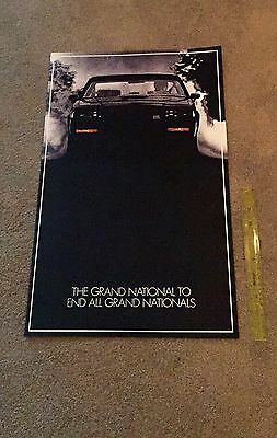 Buick Grand National GNX Poster