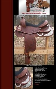Continental Reining Saddle