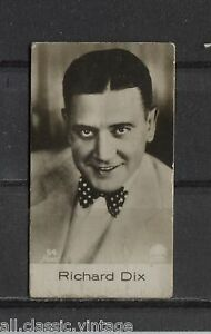 Richard-Dix-Vintage-Movie-Film-Star-Trading-Photo-Card-1930-039-s-Ross-54