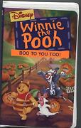 Winnie The Pooh Boo to You Too VHS