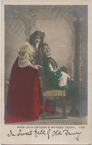 POSTCARD-ACTRESSES-Julia-Neison-fred-Terry