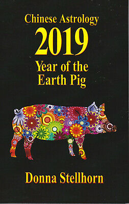 Chinese Astrology Books 2019 Year Of The Earth Pig - Autographed by Author Chinese Astrology New Year