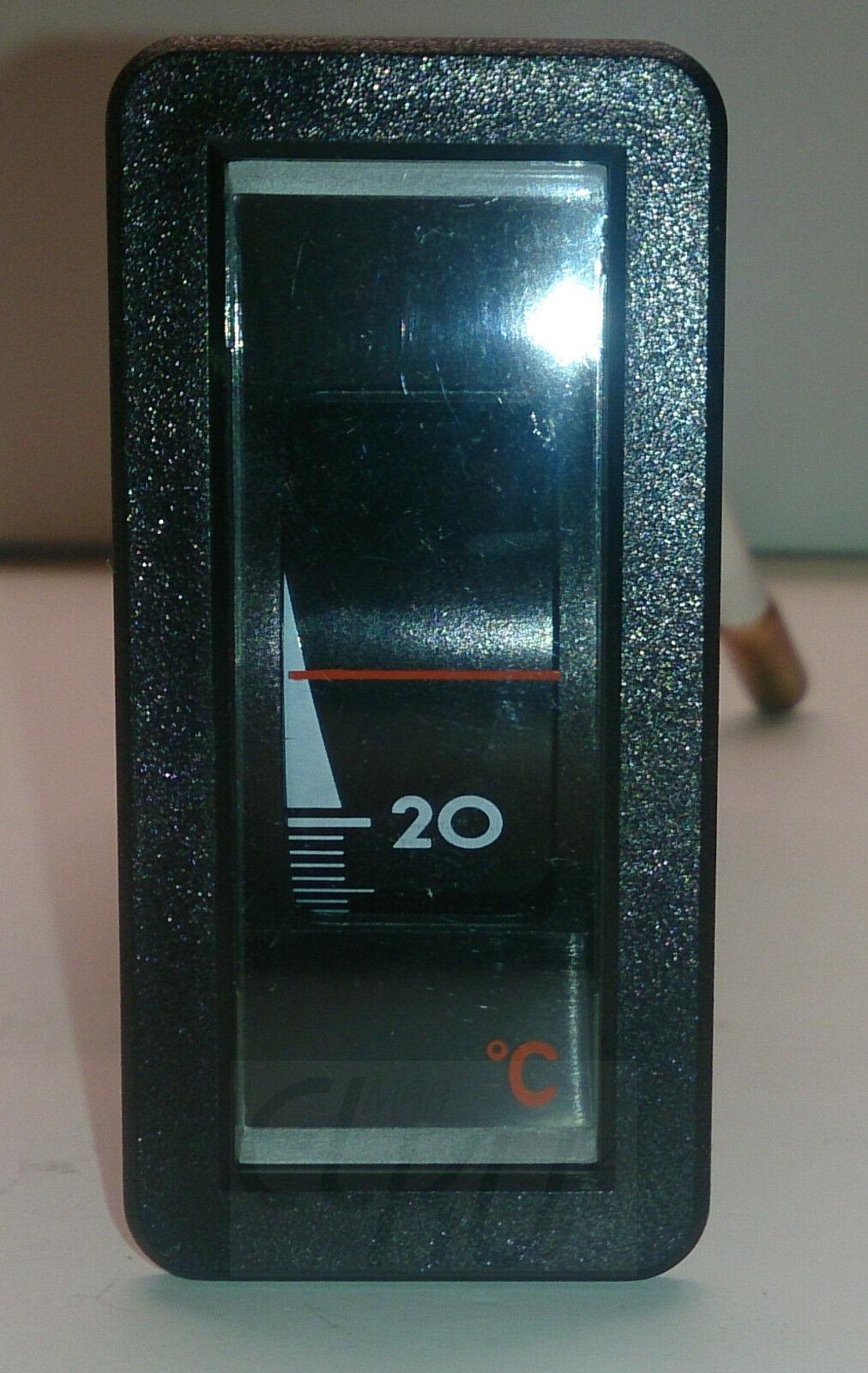 Thermometer groß Jumbo-Display bis 100°C Kabel 5m digital Kesselthermometer LCD