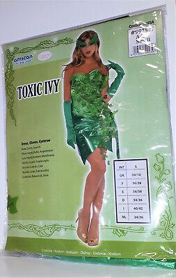 Ivy giftiger Efeu Karneval Fasching Halloween Gr L  40/42 (Ivy Halloween-kostüme)