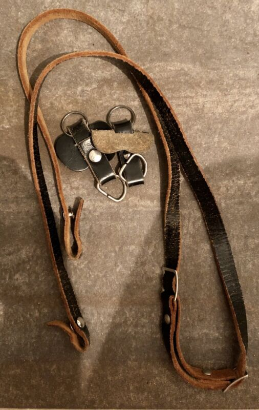 Genuine Leather Camera Strap With Genuine Leather Lugs