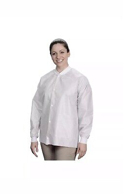 Lab Coats Lot Of 10 Size Xl Disposable Dental Medical Coats 2 Pockets