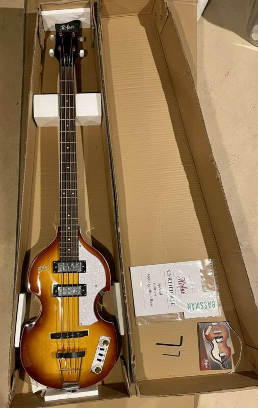 Hofner Cavern Special Edition Ignition Bass New Beatles Bass New 501
