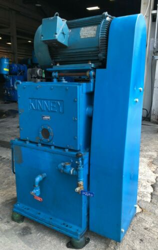 KINNEY KT 300D SINGLE-STAGE ROTARY PISTON VACUUM PUMP Serial Number: MS50980-H65