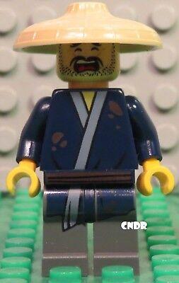 Lego The Ninjago Movie 70607 Ninjago City Chase minifig HAM with Hat minifigure!