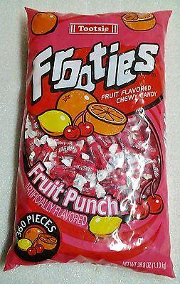Frooties Fruit Punch Flavor 360 Count Bag