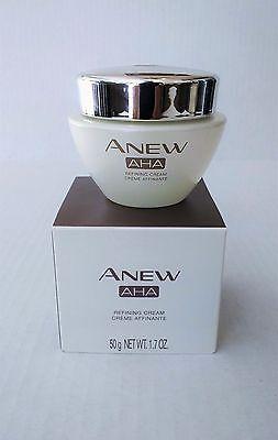 Avon Anew AHA Alpha Hydroxy Acid Refining Cream - New in Box