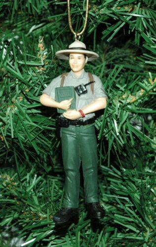 Park Ranger Christmas Ornament