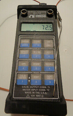 Omega Engineering Model Cl26 Tc Rtd Thermistor Calibrator Thermometer