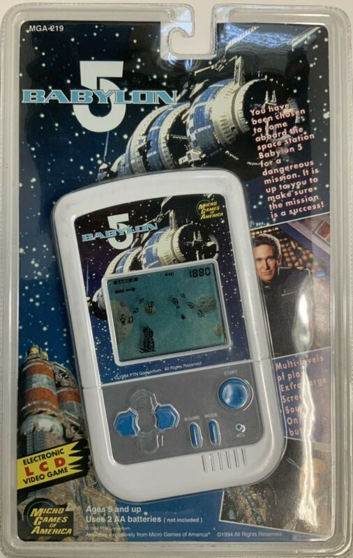 Babylon 5 Electronic LCD Game MGA-219 Signed on Back by Michael O