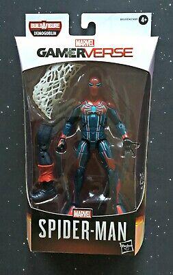 Marvel Legends Gamerverse BAF Demogoblin Spider-man Velocity Suit In Hand