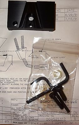 Fostec-schott Nikon Smz 645660 Stereo Microscope Fiber Light Guide Bracket