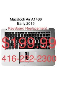 Apple MacBook Air A1466 KeyBoard Replacement