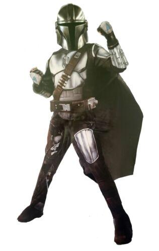 The Mandalorian Kids Costume Beskar Armor STAR WARS Gloves Mask Belt 3/4/5/6/7/8
