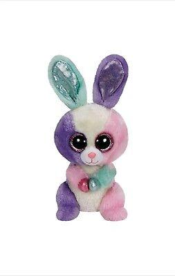 Beanie Boo Rabbit (TY Beanie Boo Bloom the Easter Bunny Rabbit Medium Plush Stuffed regular)