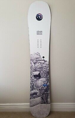 GNU Mullair 2017-2018 Snowboard 161 Wide (Rare Model Year and Graphic)