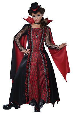 Count Dracula  Vampire Gothic Victorian Vampira  Child Costume  - Count Dracula Costumes