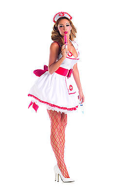 Sexy Adult Halloween Party King Women's Naughty Nurse - Naughty Adult Halloween Kostüme