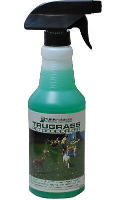 16oz Synthetic Lawn Turf Kennel Deodorizer Pet Dog Grass Odor Remover Eliminator