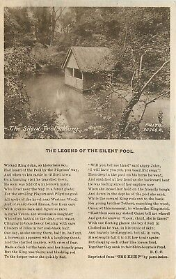 s09570 Silent Pool, Albury, Surrey, England postcard unposted