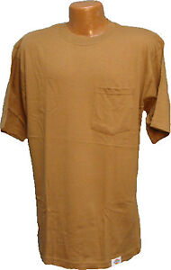 Dickies-1144624BD-TWO-PACK-Brown-Duck-Work-T-Shirt-Short-Sleeve-Large