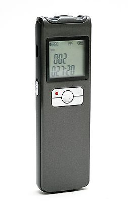 15 DAY BATTERY VOICE RECORDER WITH 16GB AND WIRELESS MIC
