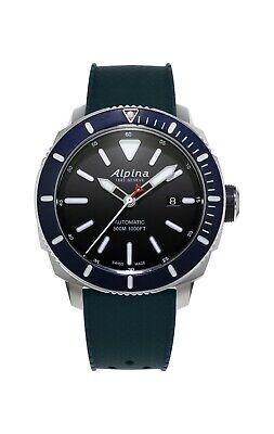 Alpina Seastrong Diver 300 Men's Automatic Caliber 44mm Watch AL-525LBN4V6