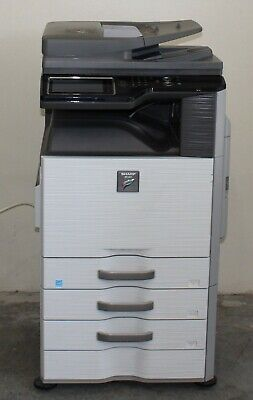 Sharp Mx-2615n Color Multifunction Duplex Copier Network Printer Scan Ppm