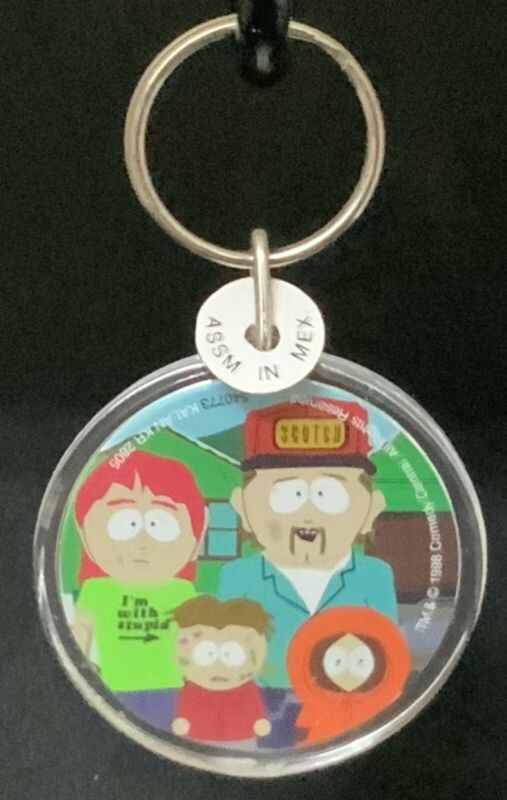 "Kalan South Park 1998 Comedy Central McCormic family ""Kenny"" Keychain"