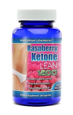 Maritzmayer Raspberry Ketone Lean Advanced Weight Loss Supplement 60 Capsules