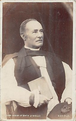 POSTCARD  RELIGION    Lord  Bishop  of  Bath  and  Wells