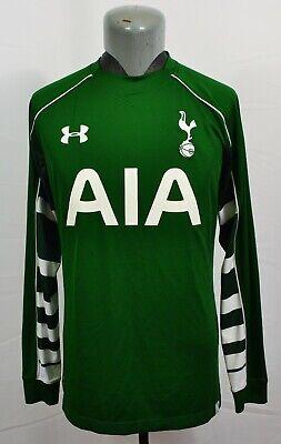 Under Armour Tottenham Hotspur FC 2015-16 GK Goalkeeper Shirt Football Spurs L image
