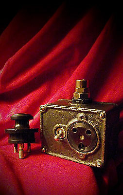 Vintage Industrial Switch Electrical Socket